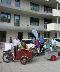 Neubau der Wogeno eG in München. Foto: Wogeno