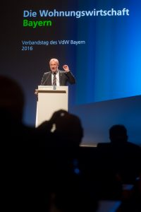 VDW Verbandstag am 11.05. in der Meistersingerhalle in Nürnberg Foto: Andreas Heddergott